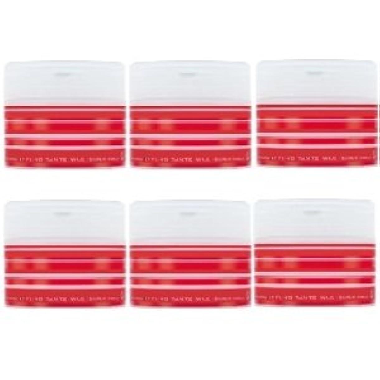 持つ避難拷問ナカノ スタイリング タントN ワックス 5 スーパーハード 90g × 6個セット