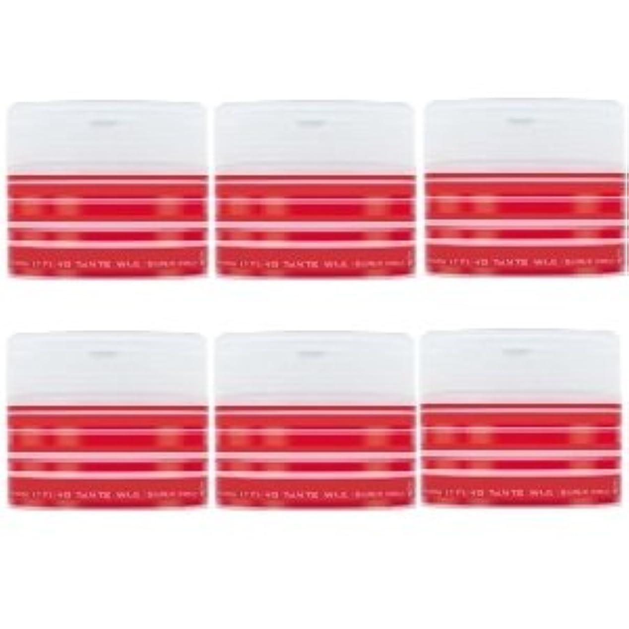 憲法望みとまり木ナカノ スタイリング タントN ワックス 5 スーパーハード 90g × 6個セット