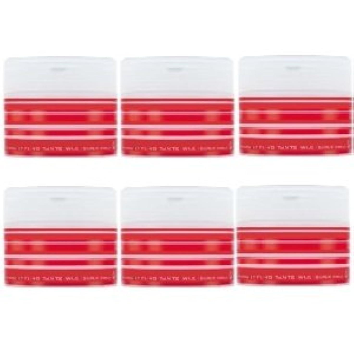 郡エイズジュニアナカノ スタイリング タントN ワックス 5 スーパーハード 90g × 6個セット