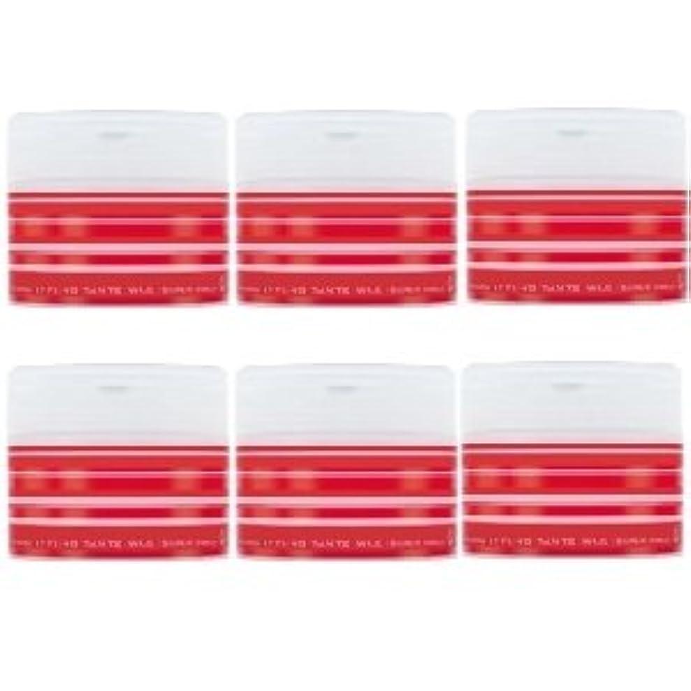 復活自我ブラザーナカノ スタイリング タントN ワックス 5 スーパーハード 90g × 6個セット