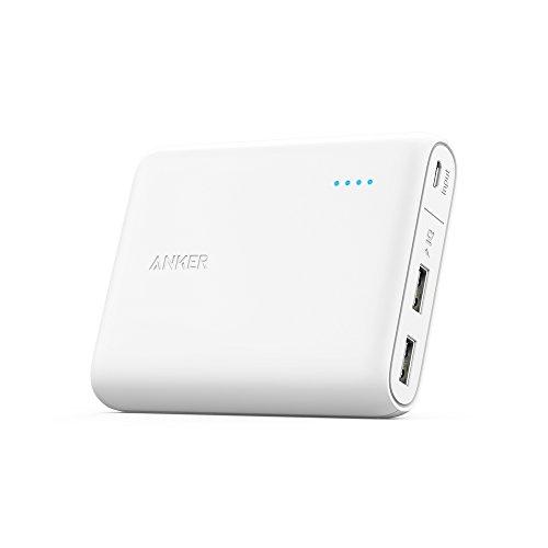 Anker PowerCore 13000 (13000mAh 2ポート 大容量 モバイルバッテリー) iPhone&Android対応 A1215021をアマゾンで購入