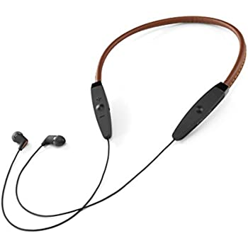Klipsch(クリプシュ) R5 Neckband ブラウン【国内正規品】 高音質 Bluetoothイヤホン 本革製ネックバンド ノイズキャンセルマイク搭載 KLNBR50112