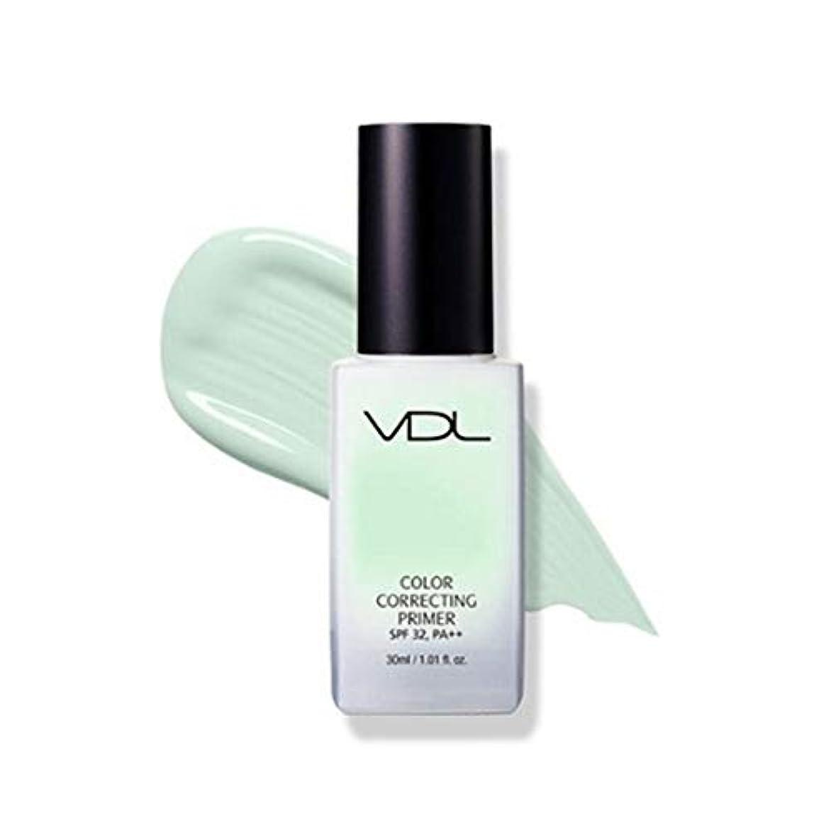 辞書効能繁栄VDLカラーコレクティンプライマー30ml 3カラーメイクアップベース、VDL Color Correcting Primer 30ml 3-Colors Make-up Base [並行輸入品] (Mint)