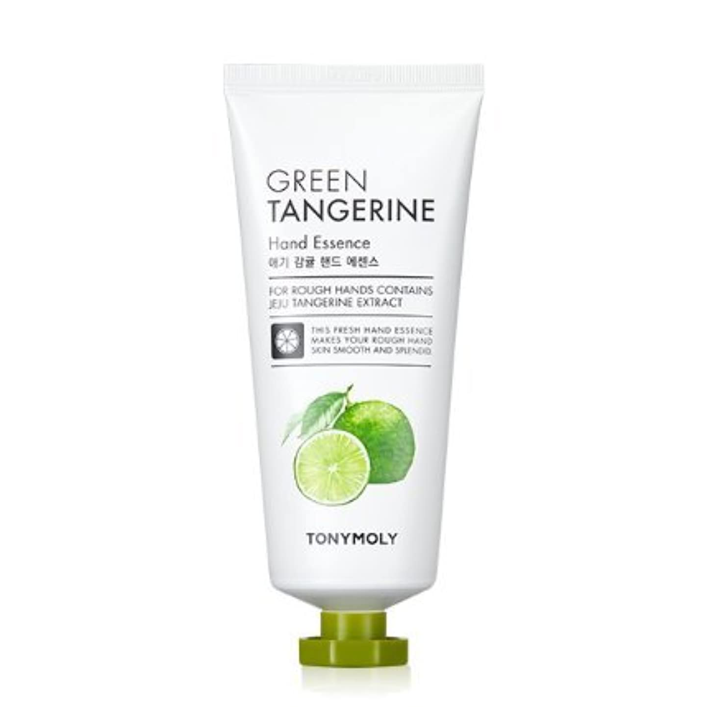 山政治準備[Renewal] TONYMOLY Green Tangerine Hand Essence/トニーモリー 青みかん ハンド エッセンス 80g [並行輸入品]