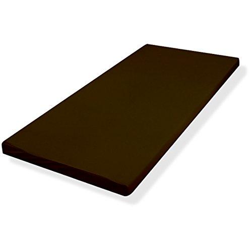 ottostyle.jp コンビマットレス 8cm シングル(4cm低反発+4cm高反発) ブラウン