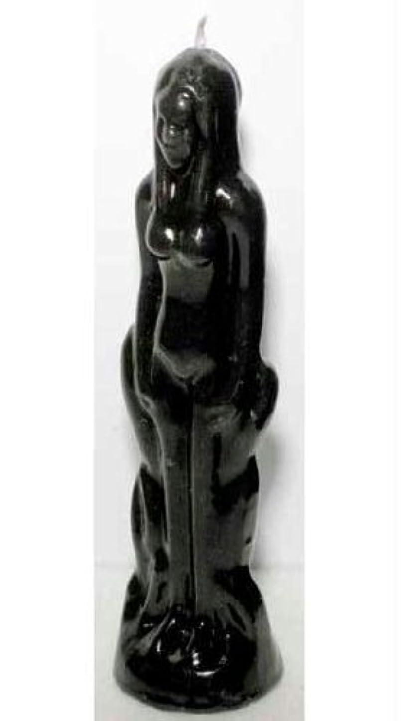 フィット妻スポンジAzureGreen CHFB Female Candle in Black