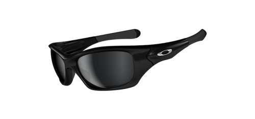 [オークリー] サングラス PITBULL ピットブル アジアンフィット Pit Bull メンズ ポリッシュドブラック 偏光レンズ 日本 ワンサイズ (FREE サイズ)
