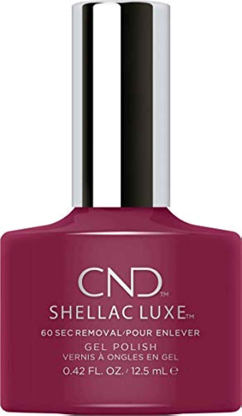 底義務紫のCND Shellac Luxe - Tinted Love - 12.5 ml / 0.42 oz