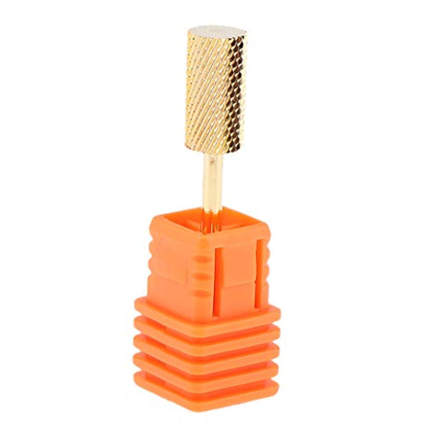鼻海洋銅T TOOYFUL 全6スタイル 電動ドリルビット ネイルアート ドリルビット ネイルチップ 研削ヘッド ネイルサロン - M