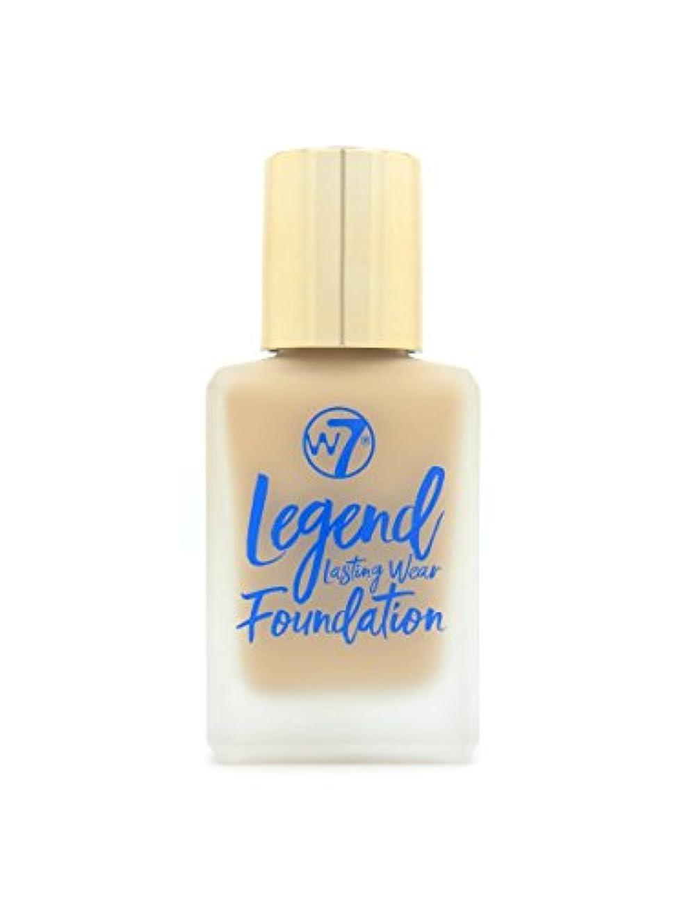 シール上に築きますインクLegend Lasting Wear Foundation - Sand Beige