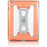 アイパット専用iPad(第4世代)/ iPad(第3世代)/ iPad2 対応 バンドタイプ らくらく手持ちiPadケース(オレンジ)