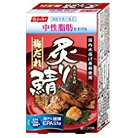 ニッスイ 機能性表示食品 炙り鯖 梅だれ 85g缶 1ケース(30缶入)