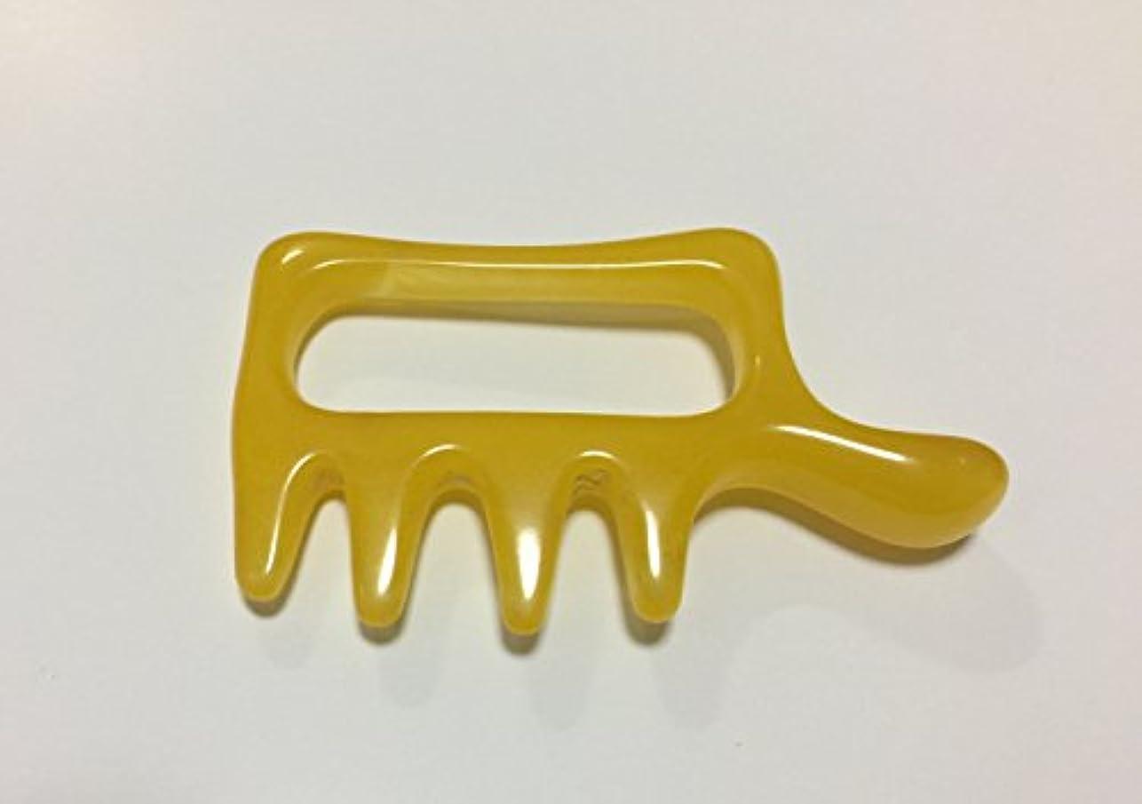 シャッター高揚した名目上のヘッドマッサージ?指圧 樹脂蜜蝋素材