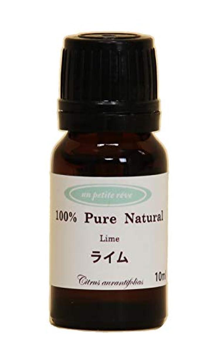 カプラー告白する保険ライム10ml 100%天然アロマエッセンシャルオイル(精油)