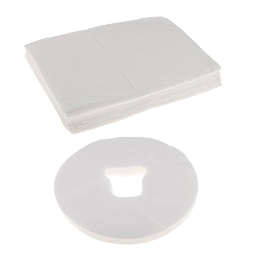 ハイブリッド薄いとても多くの使い捨て ベッドシーツ フェイスクレードルカバー マッサージ クレードル クッションカバー 安全