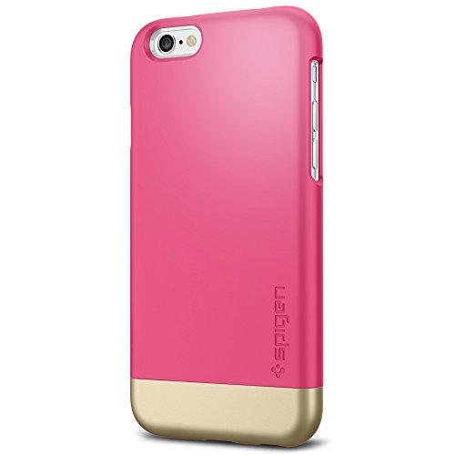 iPhone 6 ケース, Spigen®  スタイリッシュ  カバー  スタイル アーマー Apple iPhone 4.7 (2014) The New iPhone アイフォン6 (国内正規品) (アザレア・ピンク 【SGP11045】)