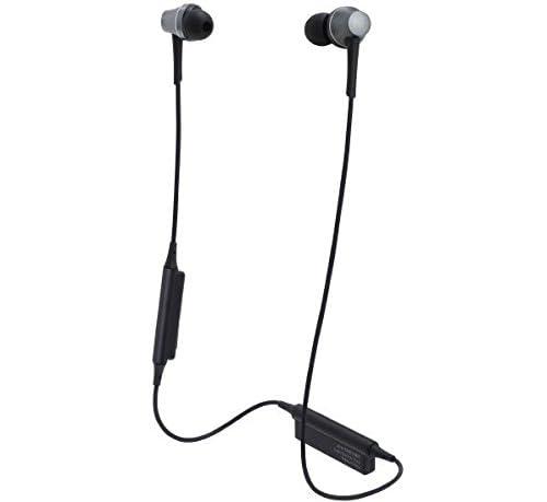 オーディオテクニカ ワイヤレスインナーイヤーヘッドフォン Sound Reality ガンメタリック ATH-CKR75BT GM