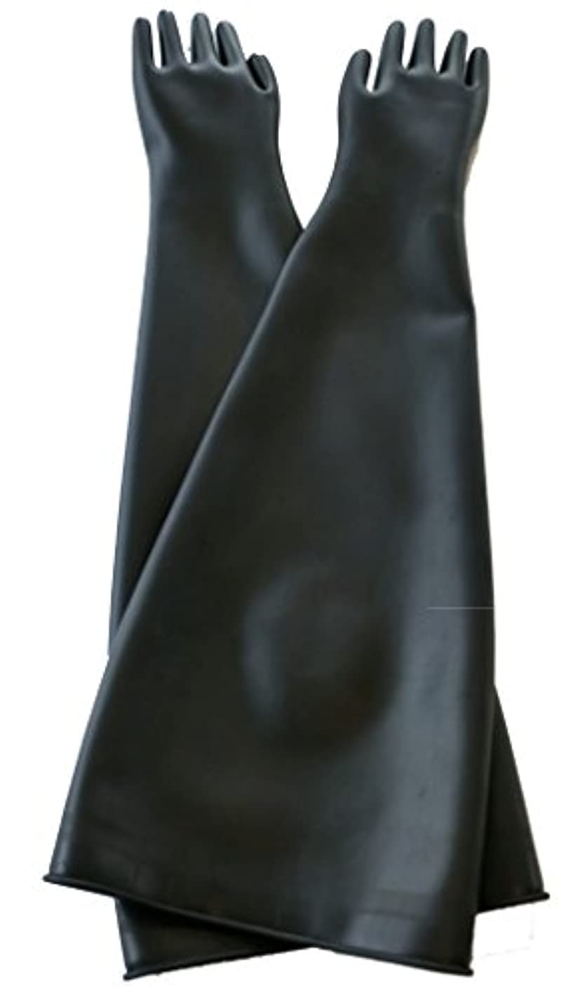 アコード対象劣るハナキゴム グローブボックス用手袋 ハナローブ8885 導電天然ゴム製 平指型