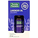 Thursday Plantation 100% Pure Lavender Oil (1mL/mL), 25 milliliters