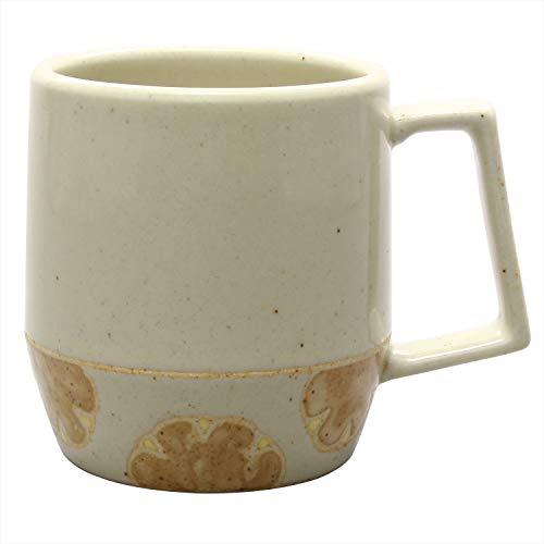 浜陶 マグカップ グレー 350ml 波佐見焼 はさみベーカリー マグカップ クリームパン 403774