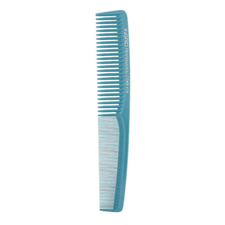 はっきりしないパネル非互換プロサロンヘアースタイリング理髪帯電防止理容室もつれ櫛ブラシ - ライトブルー