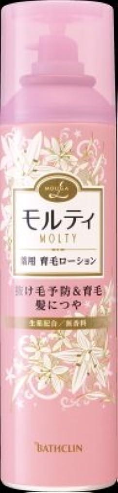 家事媒染剤フォームバスクリン モウガ L モルティ 薬用育毛ローション 180g 医薬部外品 MOUGA MOLTY×24点セット (4548514515406)