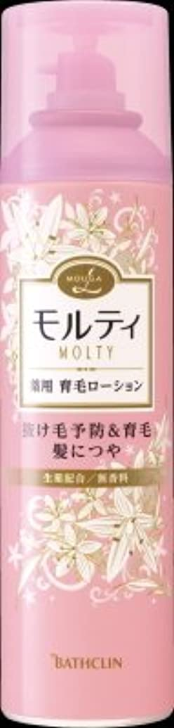 バスクリン モウガ L モルティ 薬用育毛ローション 180g 医薬部外品 MOUGA MOLTY×24点セット (4548514515406)