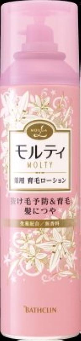 杭電池精緻化バスクリン モウガ L モルティ 薬用育毛ローション 180g 医薬部外品 MOUGA MOLTY×24点セット (4548514515406)