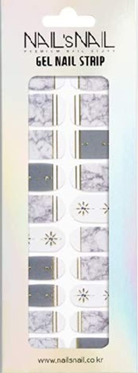 外国人覆す大工\貼るジェルネイル/Nail's Nail(ネイルスネイル) ジェルネイルストリップ 100