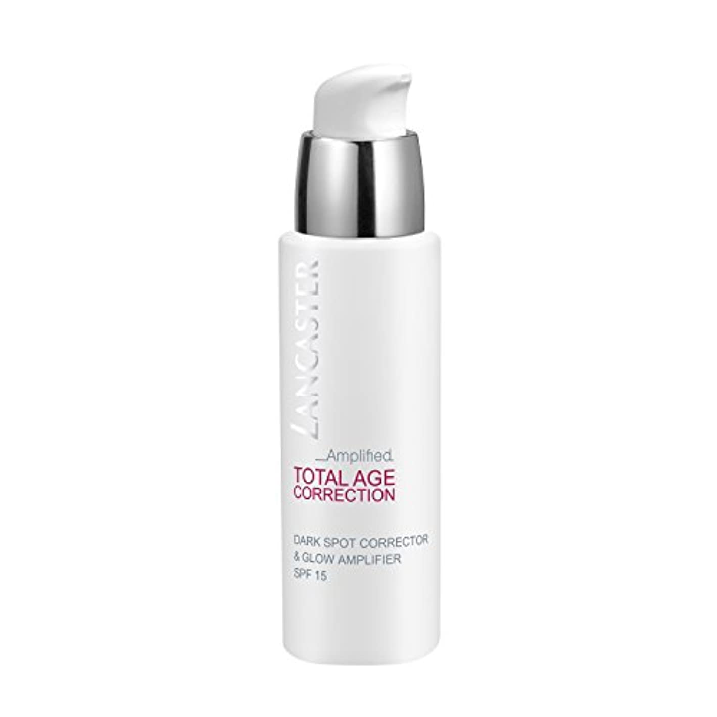セッティングごみ誓約ランカスター Total Age Correction Amplified - Dark Spot Corrector & Glow Amplifier SPF15 30ml/1oz並行輸入品
