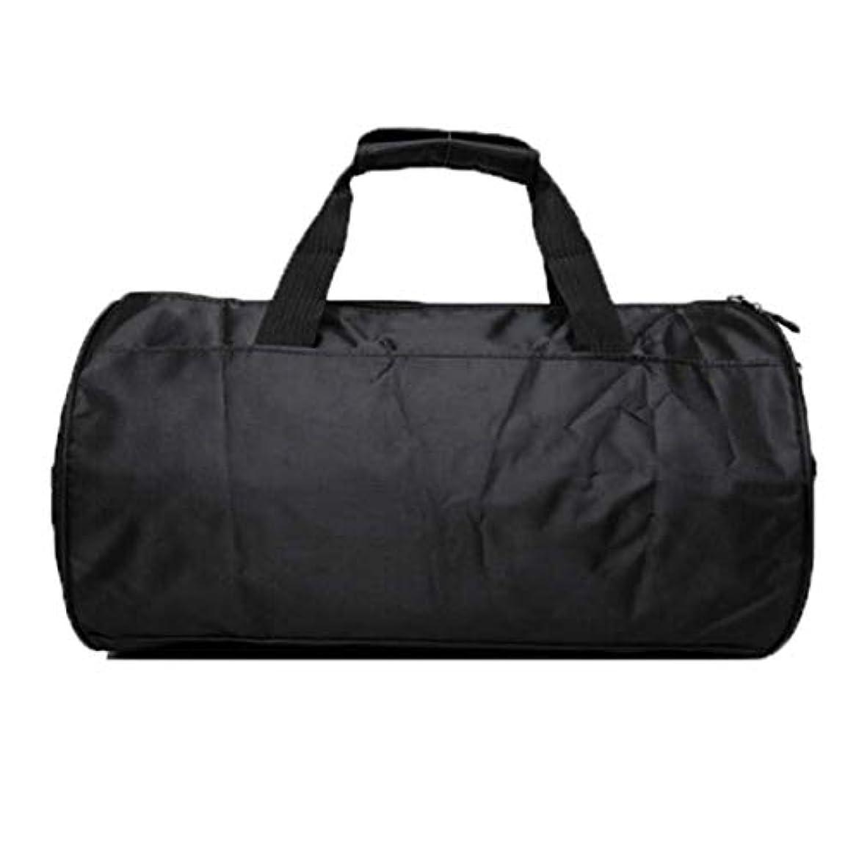 トランク通訳コンサートYoshilimen 実用的なシングルショルダーナイロンハンドバッグスポーツジムシリンダーバルクバッグスポーツ旅行スポーツジム旅行バッグ