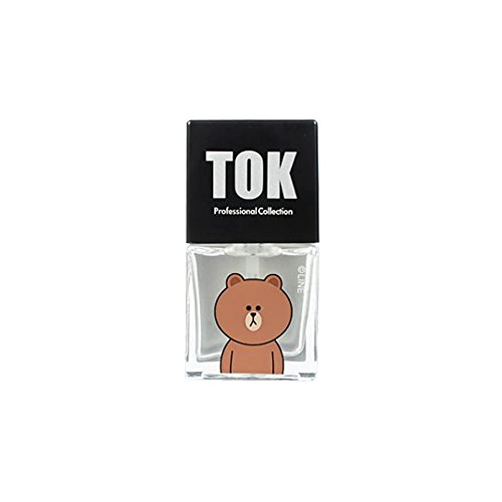キラウエア山申し込む品TOK Line Friends ネイル基本ケア ベースコート トップコート キューティクルオイル キューティクルリムーバー 栄養剤 /TOK Line Friends Nail Hybrid Basic Care[海外直送品...
