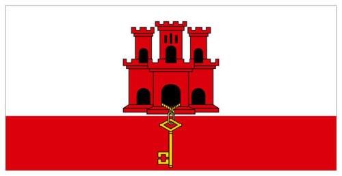 国旗 イギリス ジブラルタル旗 90×150cm