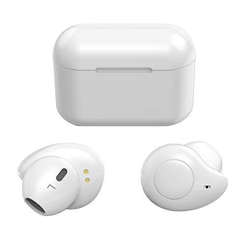 Bluetooth イヤホン Bluetooth5.0 自動ペアリング 自動ON/OFF 完全ワイヤレス イヤホン 両耳 左右分離型 二台接続可能 音量調整 タッチ式 両耳ハンズフリー通話 マイク内蔵 ブルートゥース イヤホン ACC Siri対応 充電収納ケース付 iPhone/iPad/Android適用