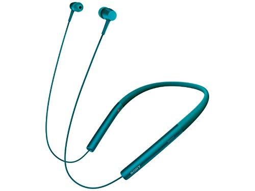 ソニー SONY ワイヤレスイヤホン h.ear in Wireless MDR-EX750BT : Bluetooth/ハイレゾ対応 リモコン・マイク付き ビリジアンブルー MDR-EX750BT L