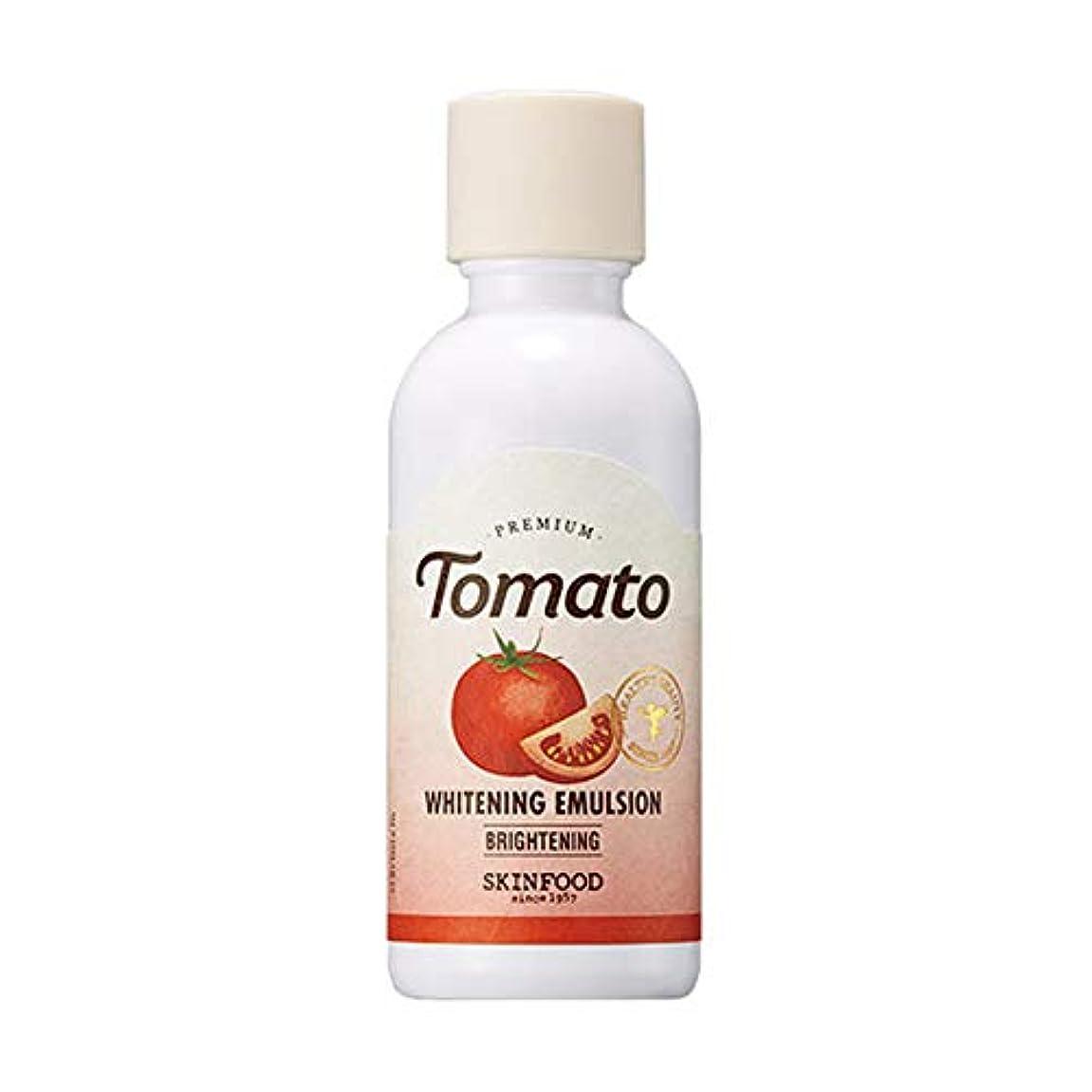 絶滅会話型コックSkinfood プレミアムトマトホワイトニングエマルジョン/Premium Tomato Whitening Emulsion 160ml [並行輸入品]