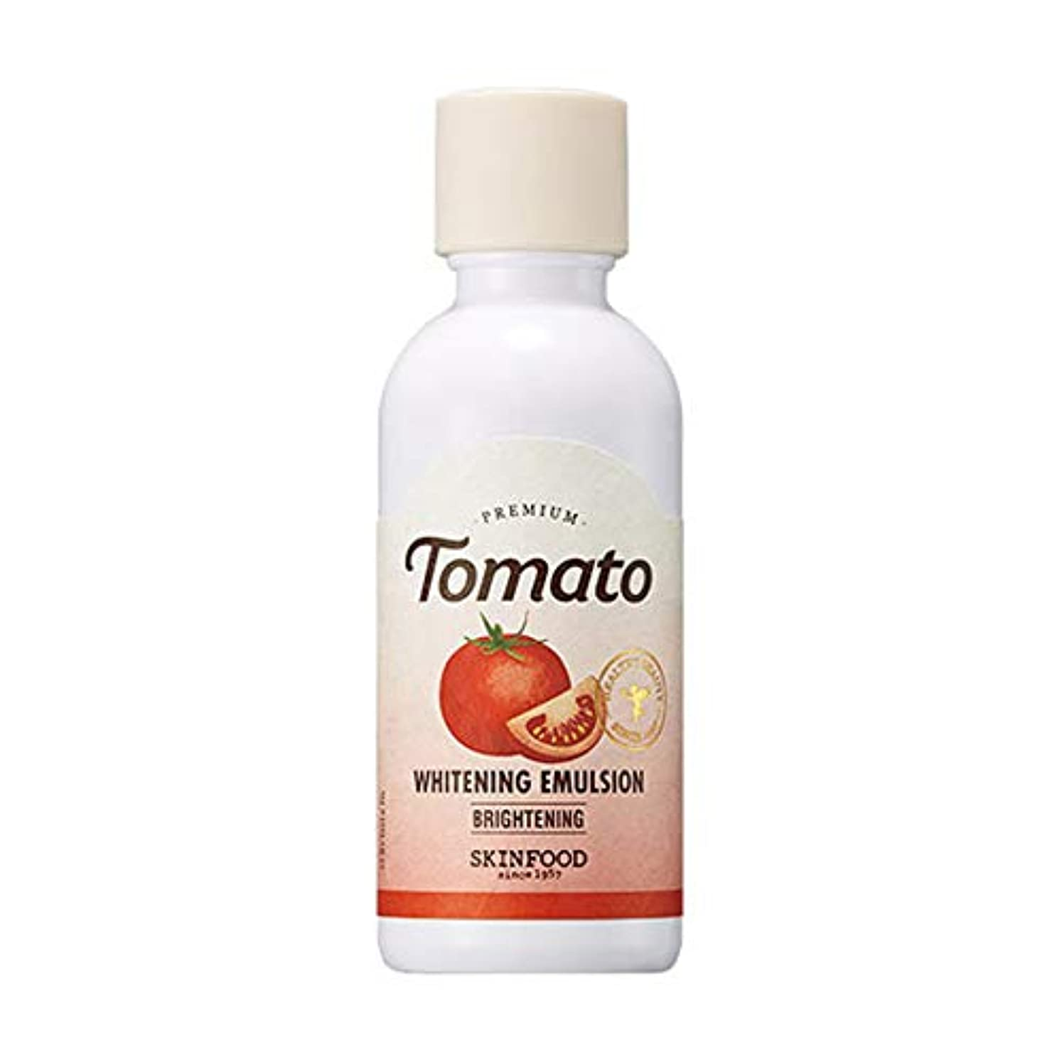 出力より平らな人気のSkinfood プレミアムトマトホワイトニングエマルジョン/Premium Tomato Whitening Emulsion 160ml [並行輸入品]