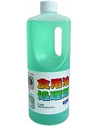 【大容量】 食用油処理剤 油コックさん 業務用 1L (油処理量 約30L分)