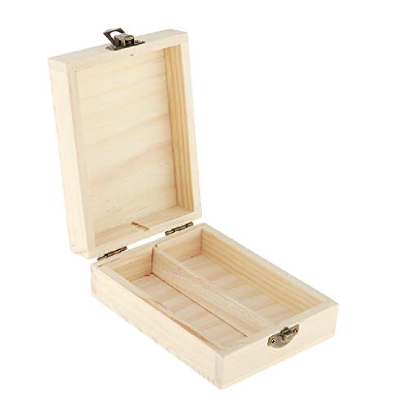 マッサージ拡張彼の精油 収納バッグ エッセンシャルオイル収納ケース 収納袋 木製 キャリングケース 50mlボトル用 携帯用