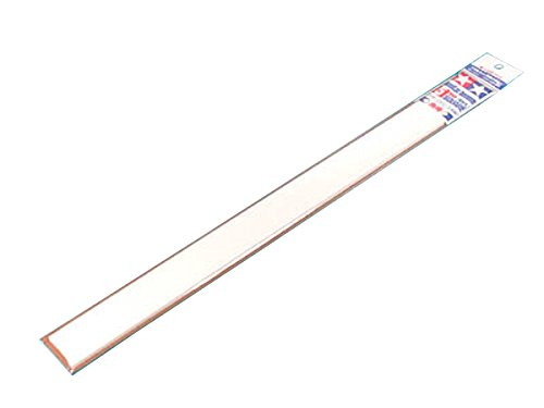 楽しい工作シリーズ No.131 プラ材5mm角棒 6本入 (70131)