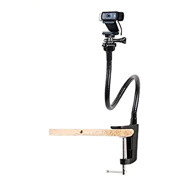 64センチメートルウェブカムスタンド調整可能卓上アームカメラスタンド 用 Logitech C922x C922 C930e C930 C920 C615
