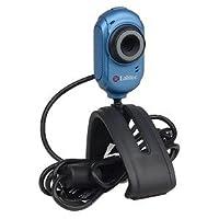 Labtec Webカメラ2200USB WebカメラW/内蔵マイク& Laptop LCDクリップ式(ブルー)