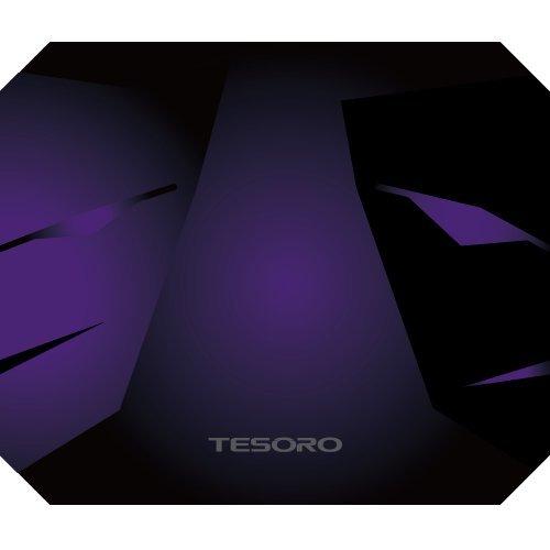 Tesoro Aegis X4 3D Fabric High Density Texture Anti-Slip Rubber Base Stitched L370 x W440 x H4mm Gaming Mouse Pad TS-X4 [並行輸入品]