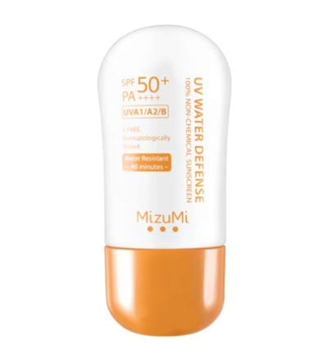 凝縮する取り付けセーターMizuMi Waterproof UV Water Serum SPF 50 PA 40 g.Very popular in Thailand