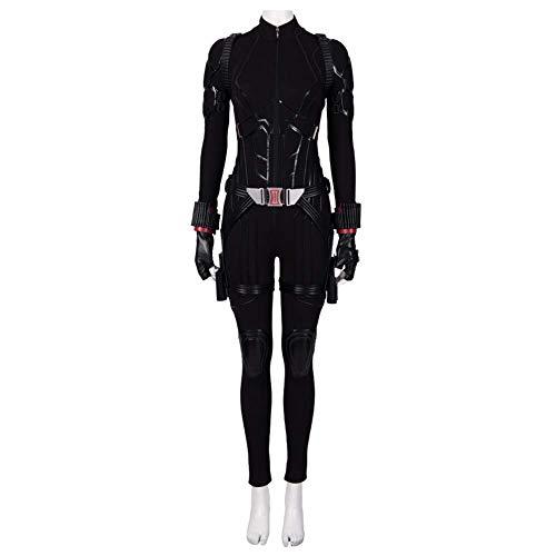 mrcos アベンジャーズ/エンドゲーム4 ブラック・ウィドウ コスプレ Black Widow 大人 コスチューム ナターシャ・ロマノフ コスプレ衣装 女性XS