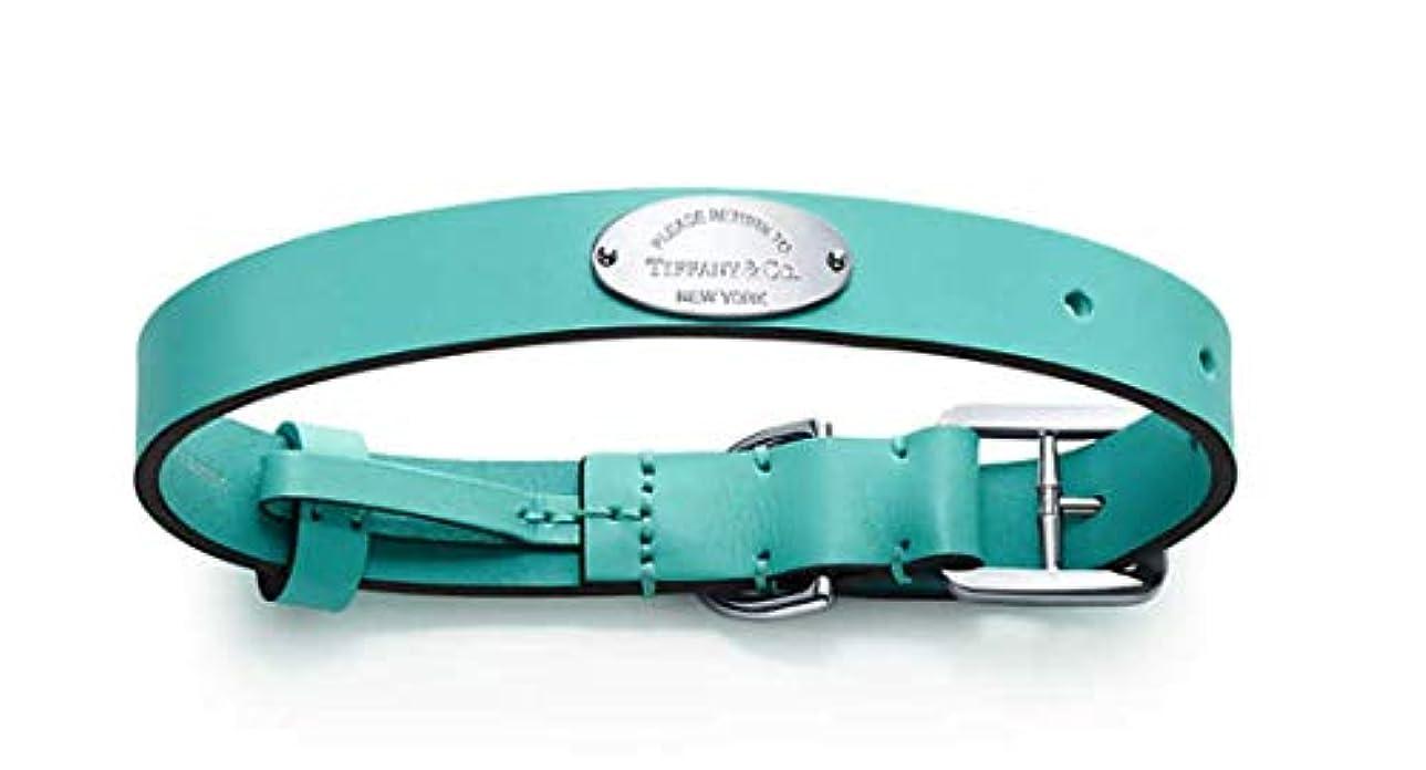 尊敬する制限簡単なティファニー Tiffany&Co ペットカラー 【ミディアム】 首輪 犬 猫 ペット カラー ペット用品