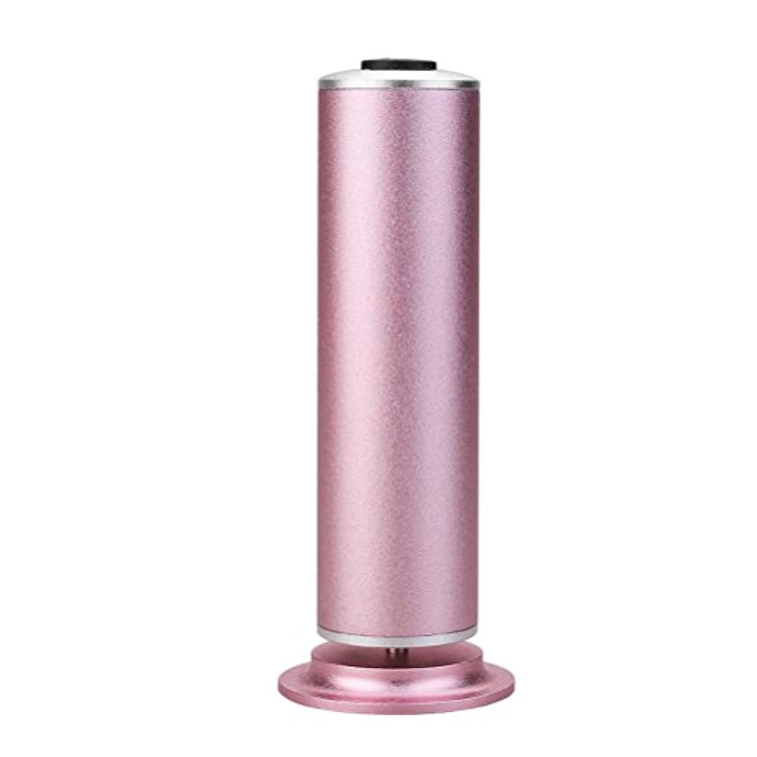 集中的なスーパーマーケット主Healifty 米国のアダプタを使用してデッドスキン除去のための足カルスリムーバーフットペディキュアツール(ピンク)