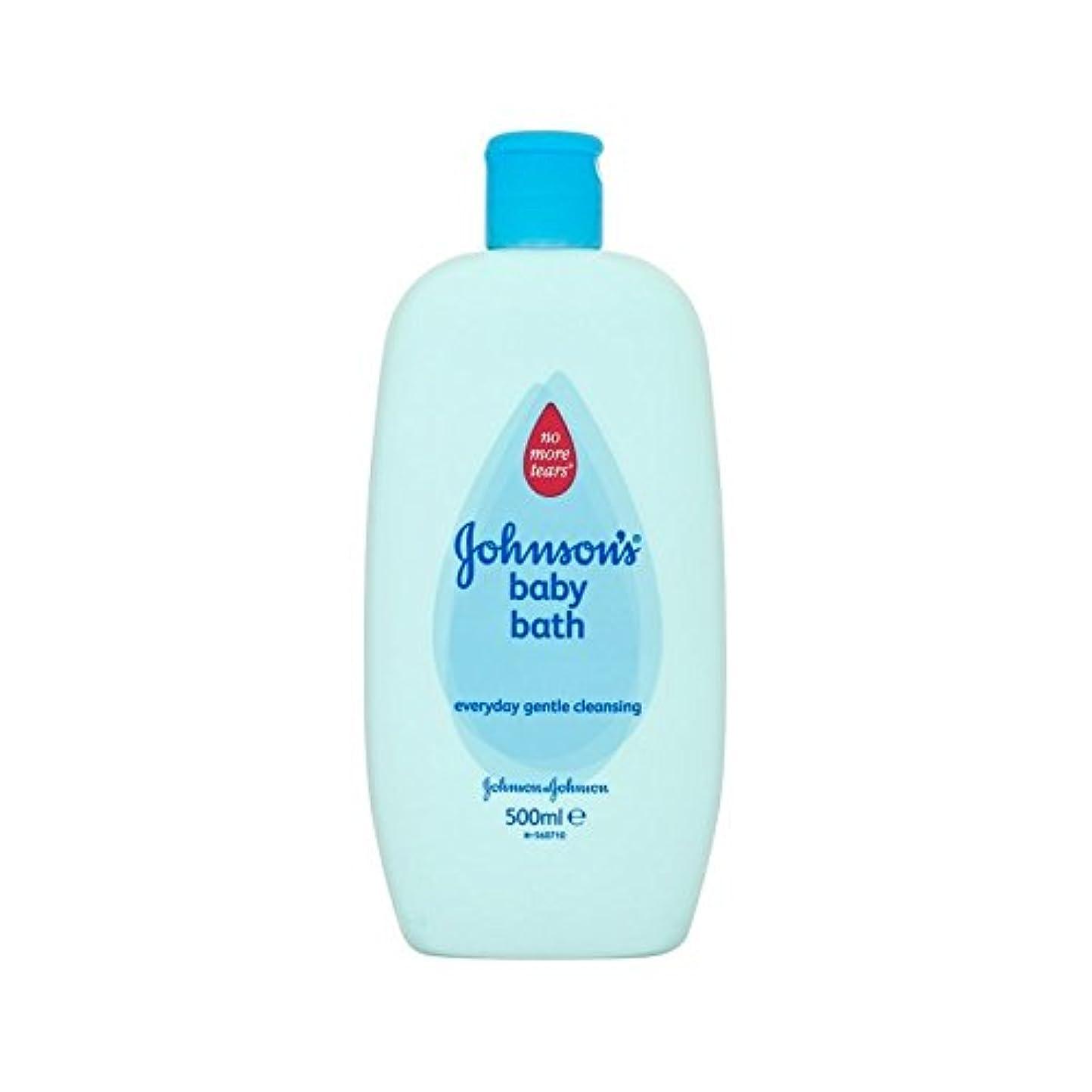 約束するエンドテーブル確実バス500ミリリットル (Johnson's Baby) (x 6) - Johnson's Baby Bath 500ml (Pack of 6) [並行輸入品]