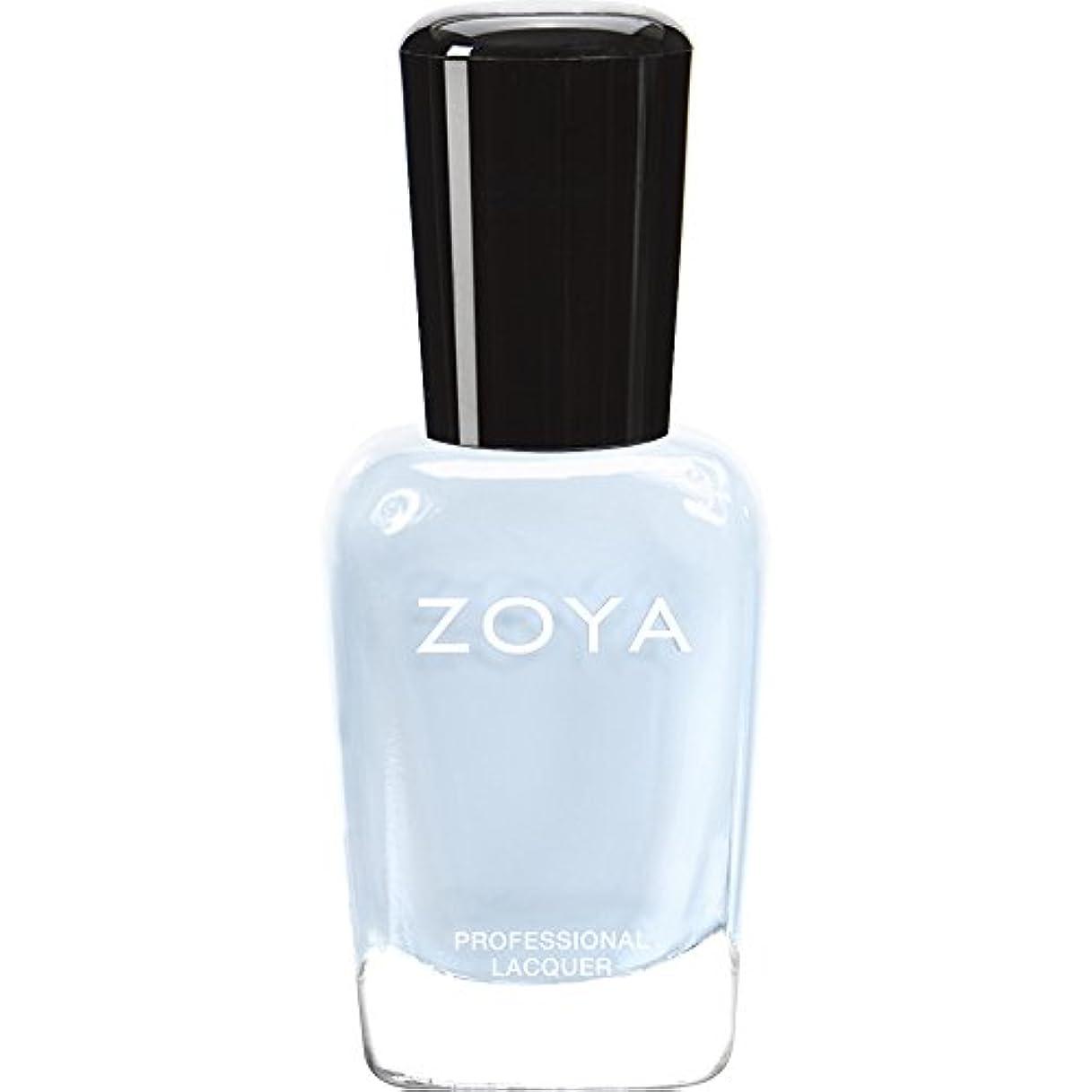 タクト展望台飲み込むZOYA ゾーヤ ネイルカラー ZP653 BLU ブルー 15ml  2012 LOVELY COLLECTION 光沢のある淡いベビーブルー マット 爪にやさしいネイルラッカーマニキュア