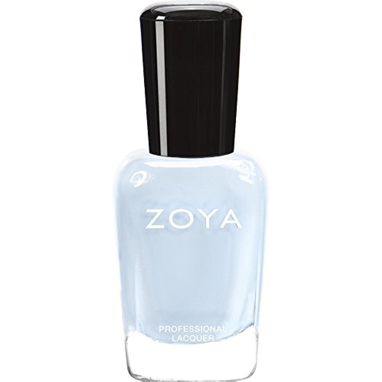 捧げる五月盗賊ZOYA ゾーヤ ネイルカラー ZP653 BLU ブルー 15ml  2012 LOVELY COLLECTION 光沢のある淡いベビーブルー マット 爪にやさしいネイルラッカーマニキュア